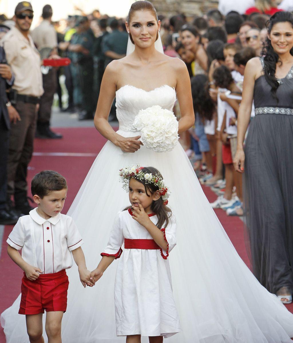 La novia, la modelo Jessica Ramírez