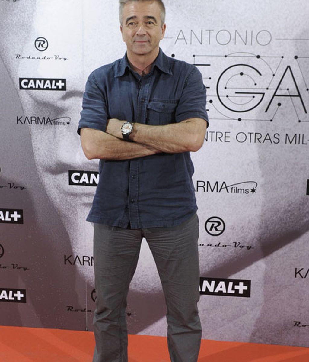 El periodista Carles Francino no se perdió la premiere