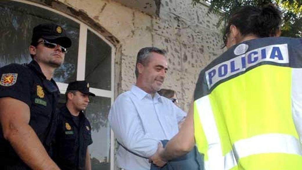 Antonio Barrientos permanece en prisión desde el pasado viernes. Vïdeo: ATLAS
