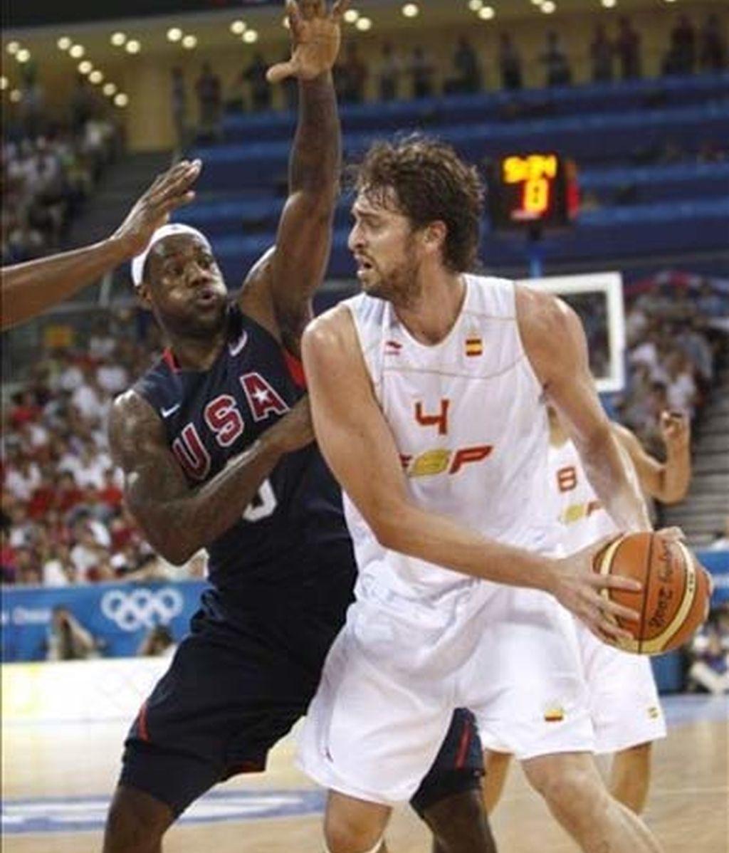 España no pudo con la selección NBA