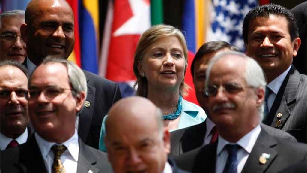 La reunión de la OEA