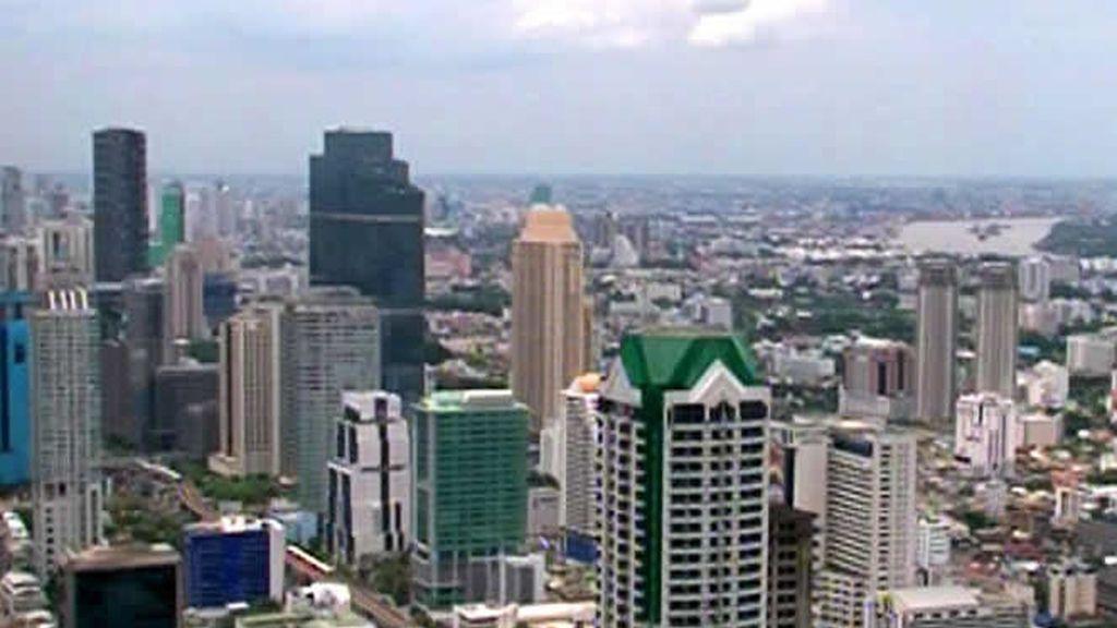 Los grandes edificios de Bangkok