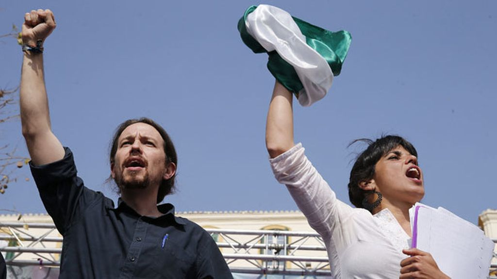 """Iglesias dice que Rajoy quiere que """"sigan los de siempre"""" en Andalucía"""