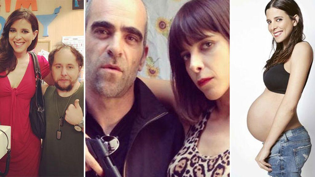 María Luisa Mayol y Luis Tosar, pareja sorpresa y un hijo dentro de apenas un mes