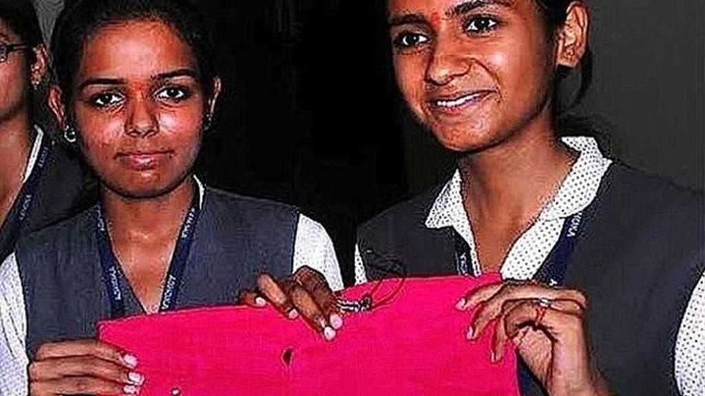 Mujeres indias inventan un pantalón antiviolación
