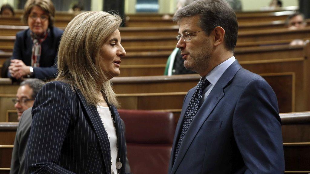 Fátima Báñez y Rafael Catalá