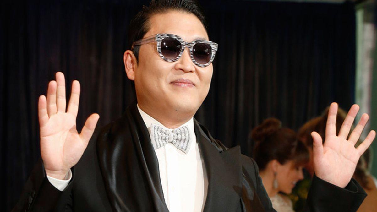 El cantante Psy