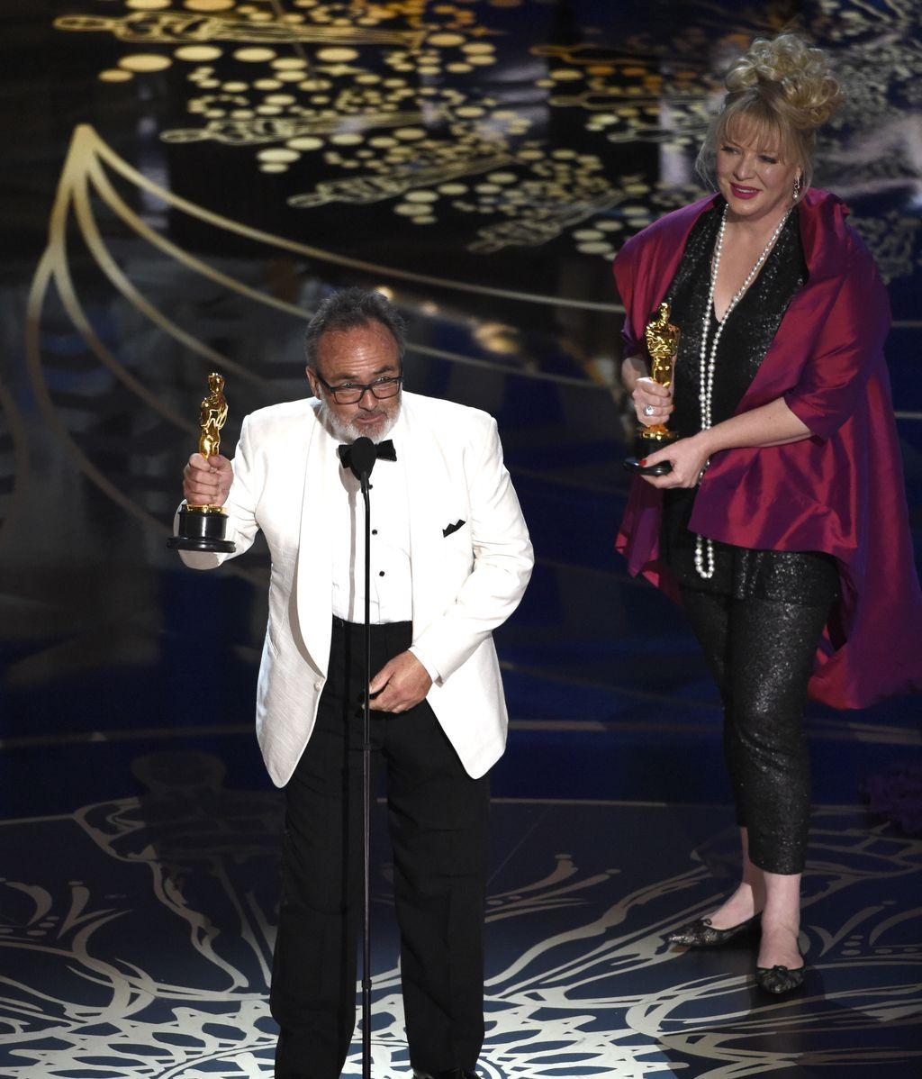Colin Gibson y Lisa Thompson, Óscar al mejor diseño de producción por 'Mad Max'
