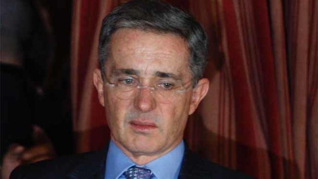 Uribe contrae la gripe A