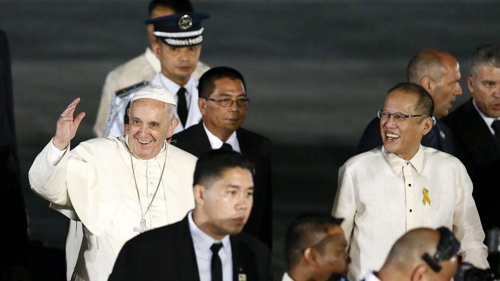 El Papa llega a Filipinas
