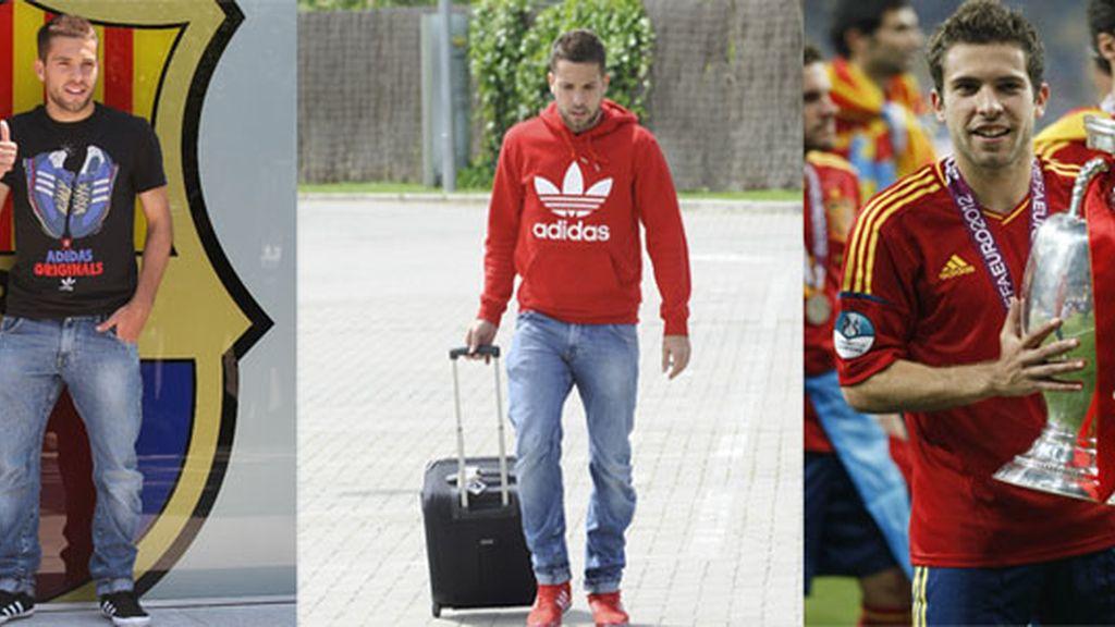 El estilo de Jordi Alba