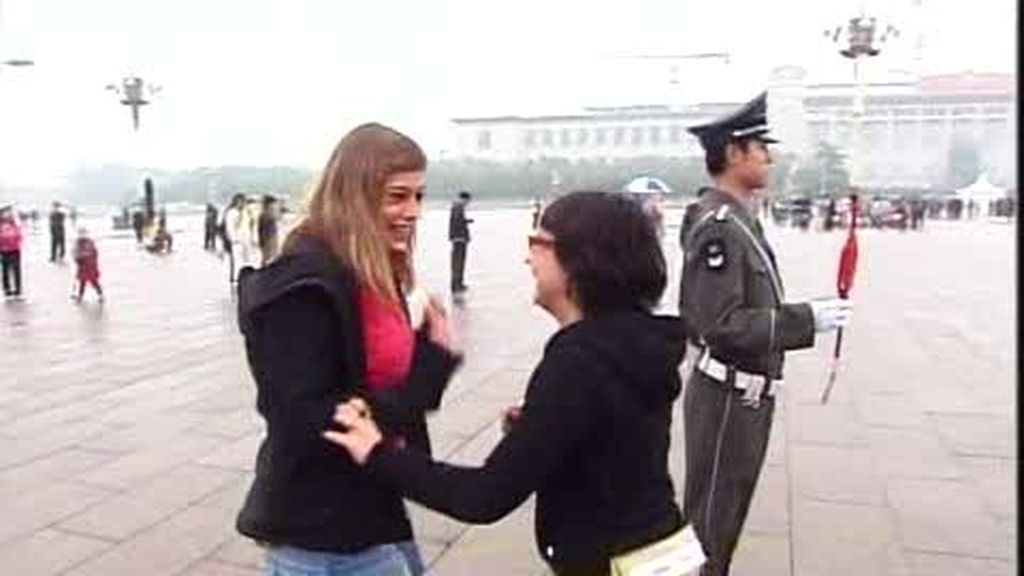 Miriam y Carla, la pareja de desconocidas