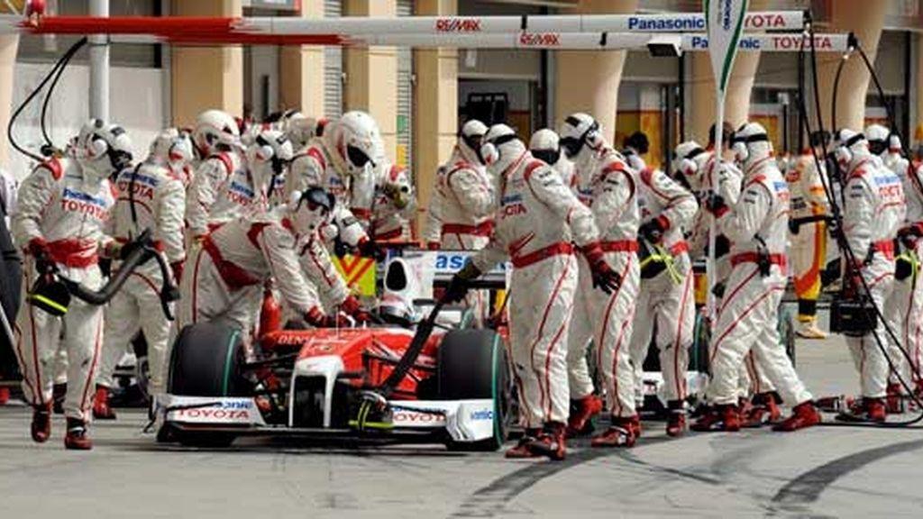 Mecánicos de Toyota