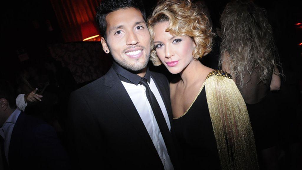 Ezequiel Garay fue el gran apoyo de su mujer Tamara Gorro en una de las noches más importantes de la colaboradora