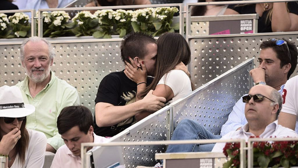 Pedroche y Muñoz, amor en la Caja Mágica de Madrid