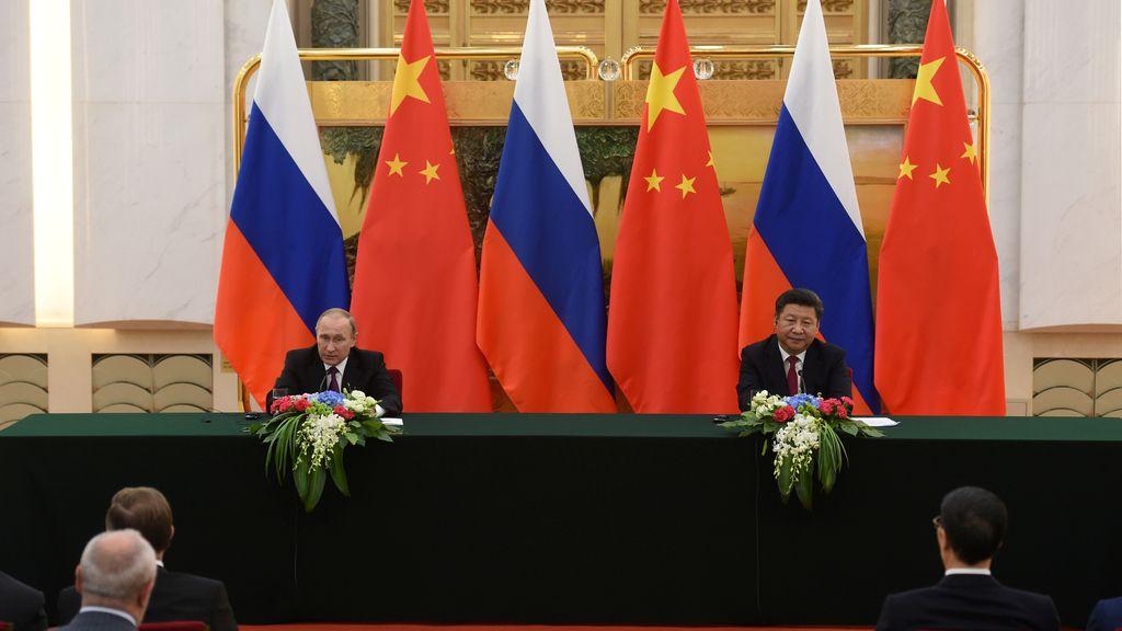 Putin se reúne con Xi Jinping