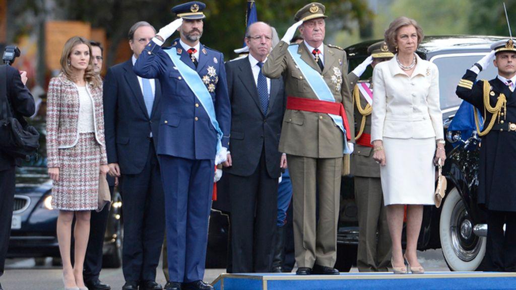 Los Reyes y los Príncipes, núcleo sólido de la Familia Real
