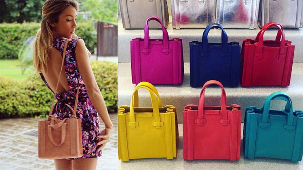 Tiene su propia firma de bolsos, Avril: sus diseños cuestan 159 euros