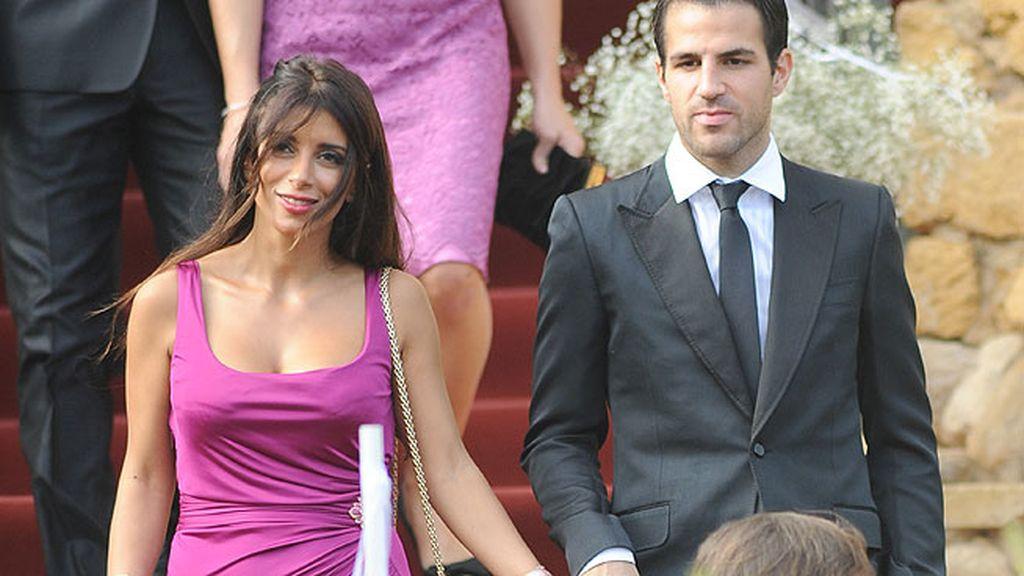 Cesc Fábregas y su novia, la exuberante Daniella Seeman