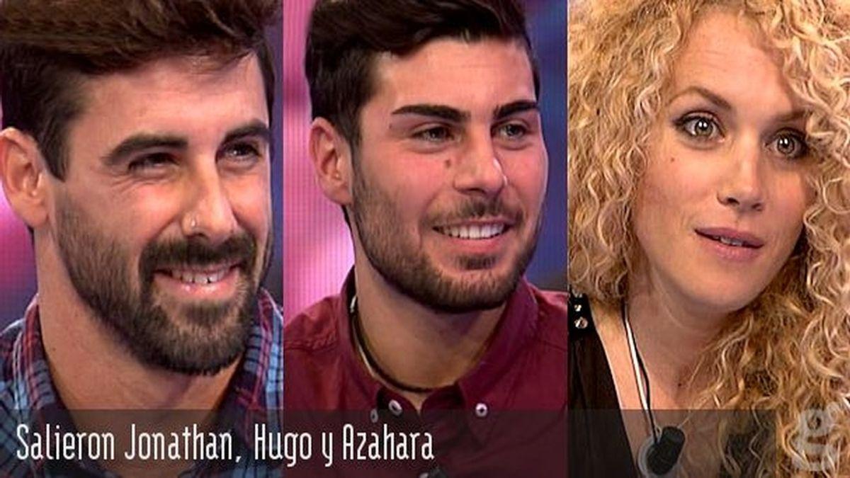 Salieron Jonathan, Hugo y Azahara