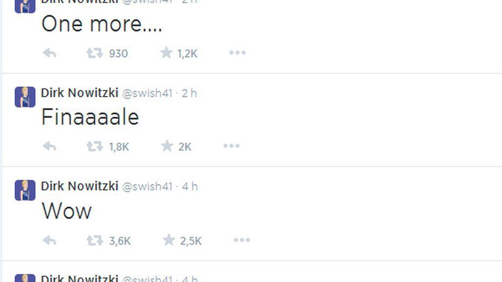 nowitzki tweets