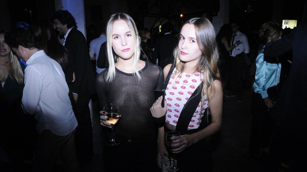 Lucía y Helena Cuesta, espléndidas en la fiesta de MFFF