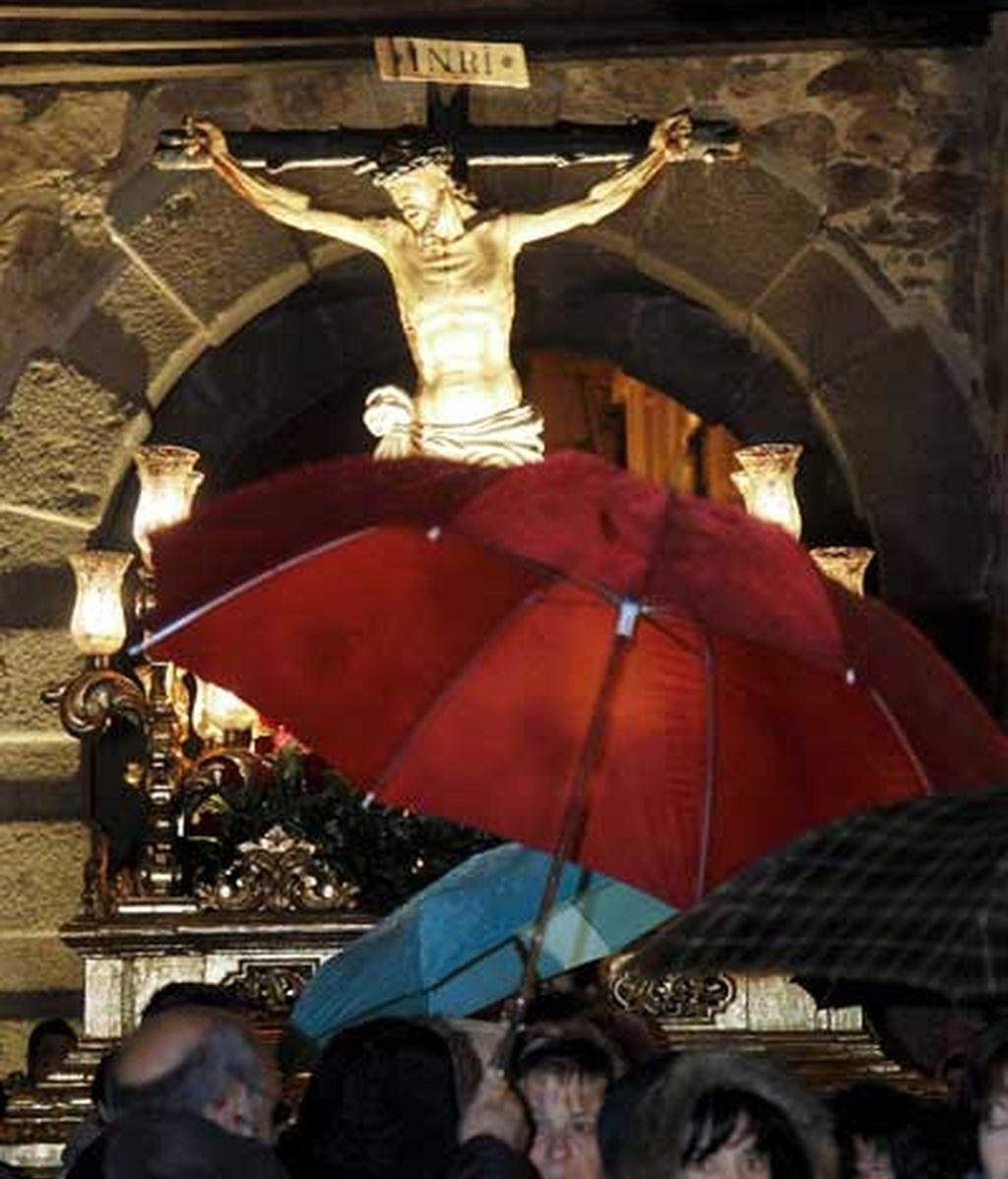 Cristo pasado por agua en Ávila