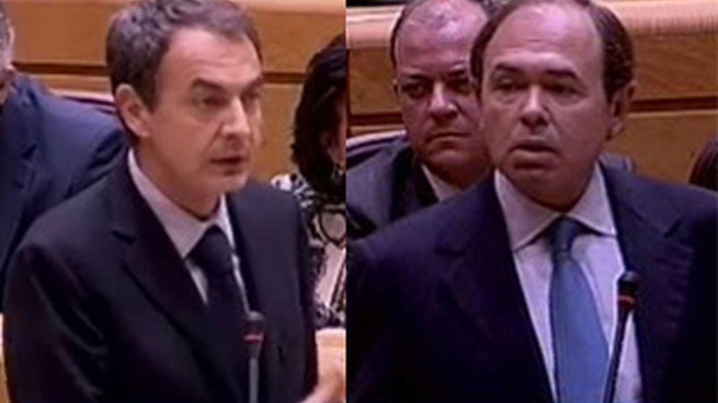 Zapatero pide al PP que arrime el hombro y piense en los intereses de España