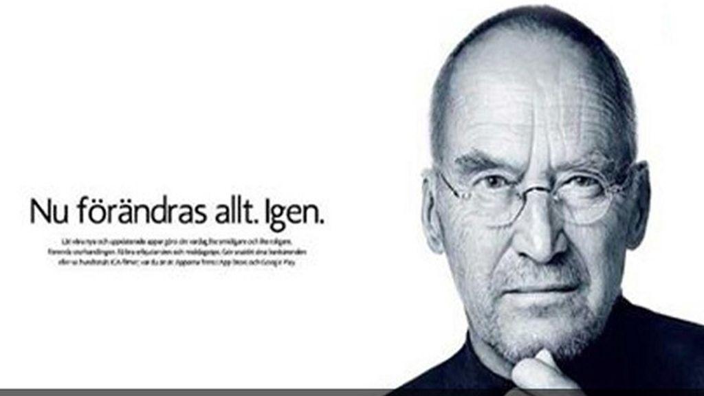 Ola de indignación por un Steve Jobs envejecido