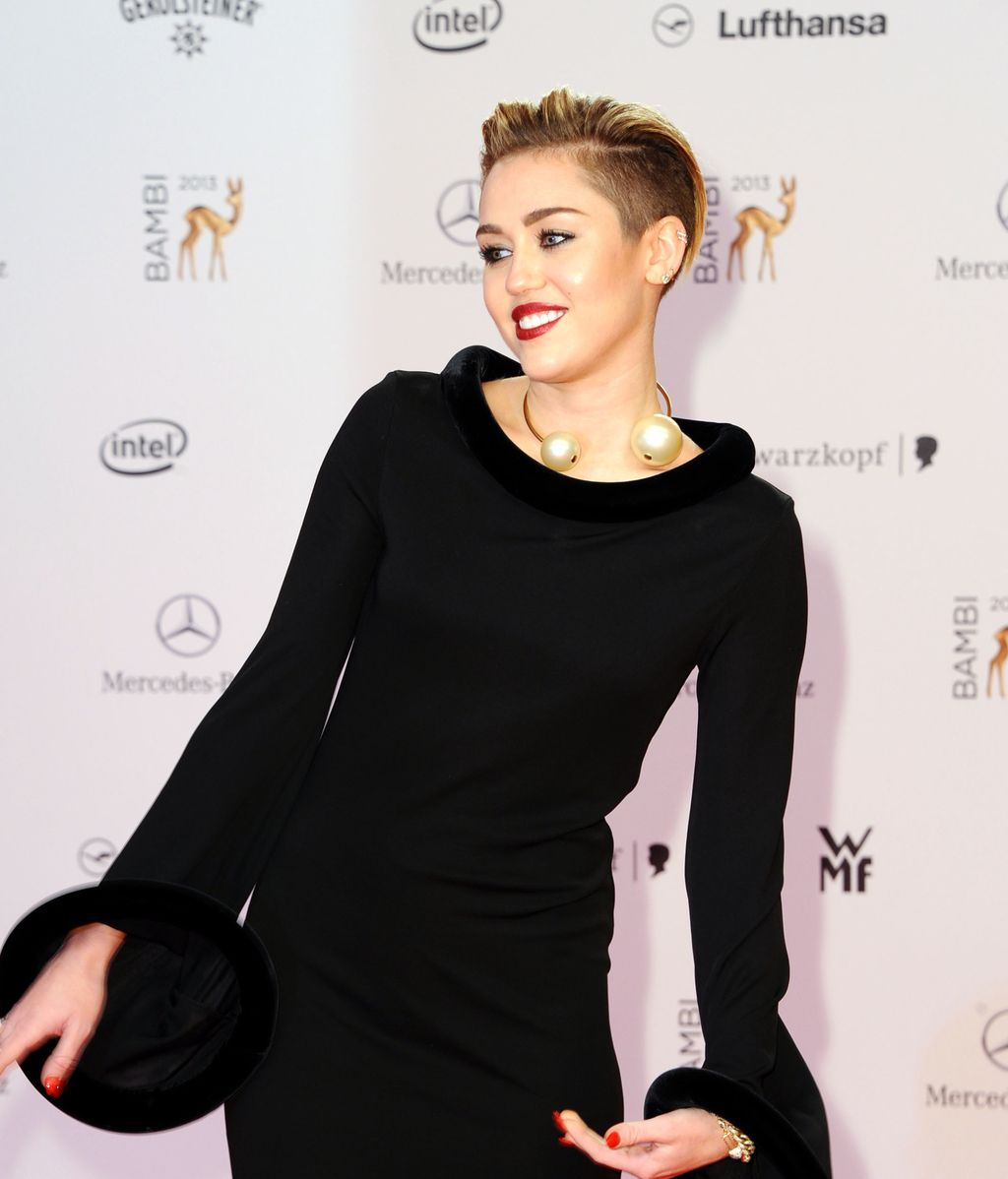 Miley Cyrus, en los Premios Bambi