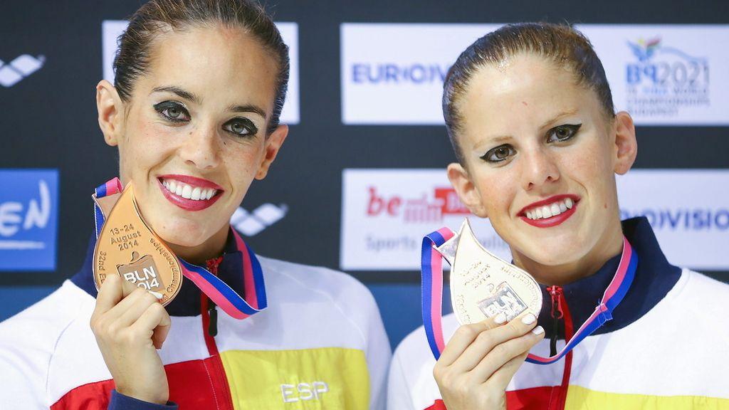 Ona Carbonell y Paula Klamburg, bronce europeo en el dúo de natación sincronizada
