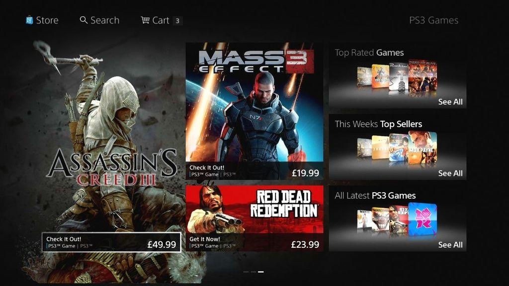 PlayStation Store de Sony