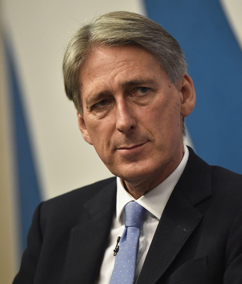 Philip Hammond, ministro de Exteriores de Reino Unido