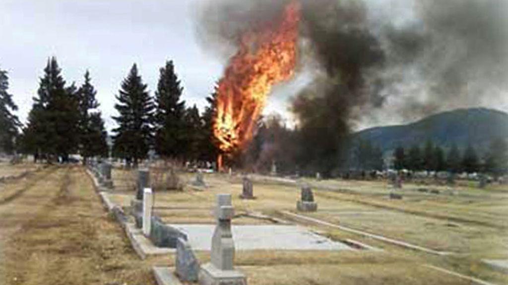 Accidente en Montana