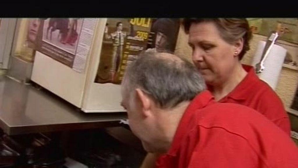 El lavavajillas y la caja registradora llegan al bar
