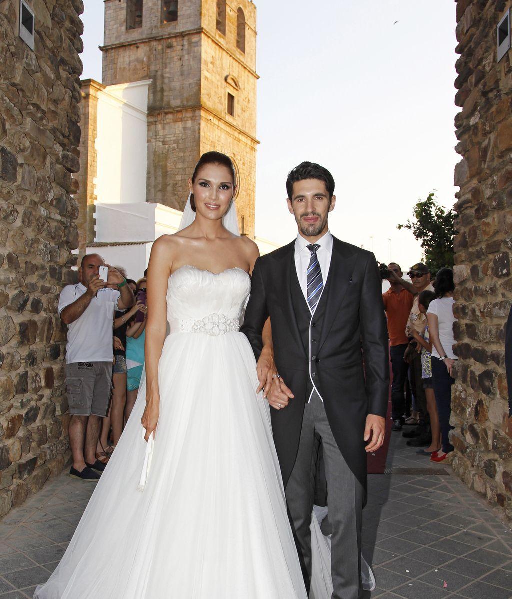 Los novios: Jessica Ramírez y Alejandro Talavante