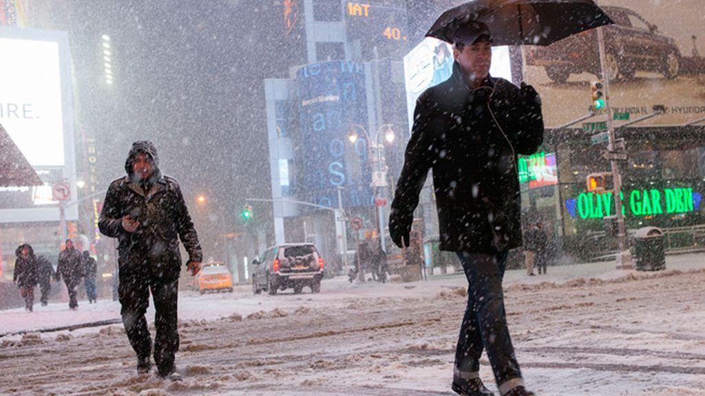Declarado el estado de emergencia en Nueva York por el temporal de lluvia y tormenta
