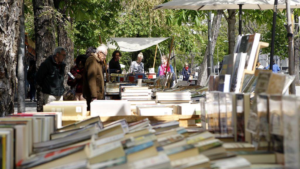 Las calles de Madrid llenas de libros