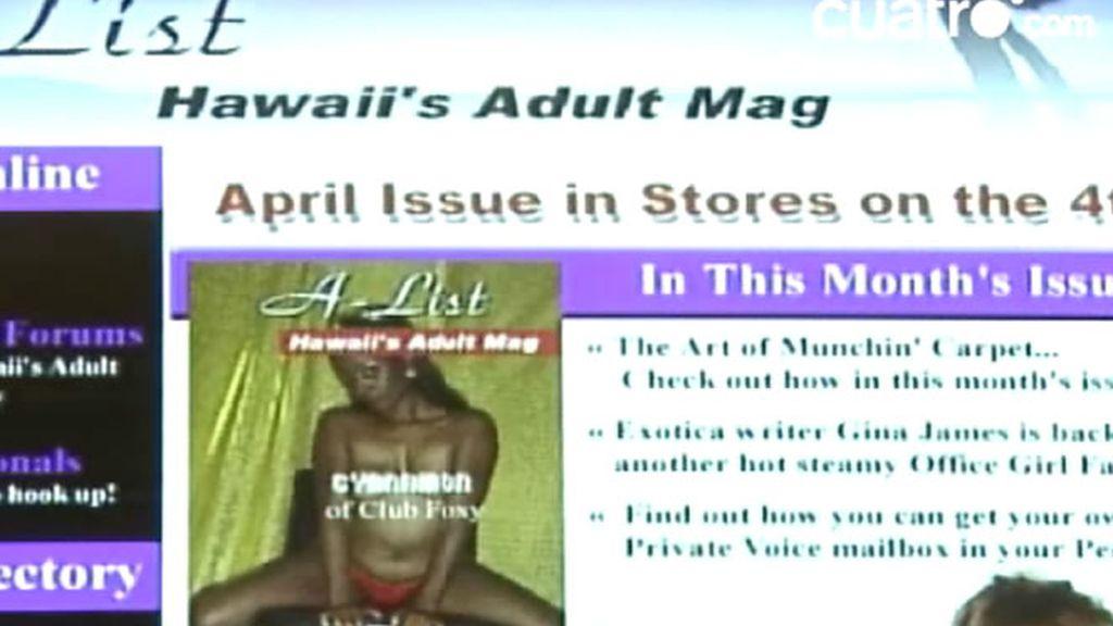 Portal de ocio para adultos de Hawai