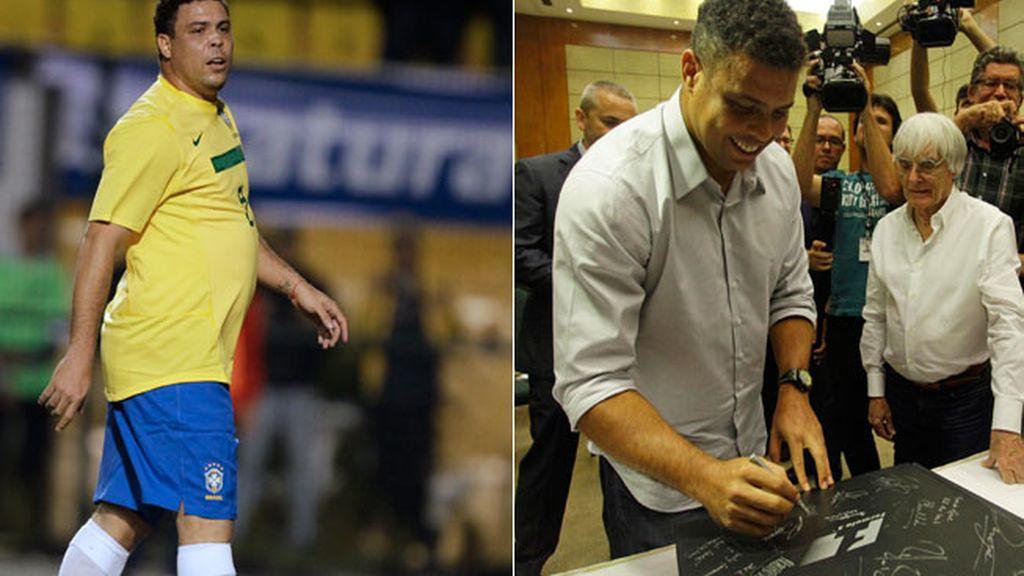 Ronaldo pierde 20 kilos