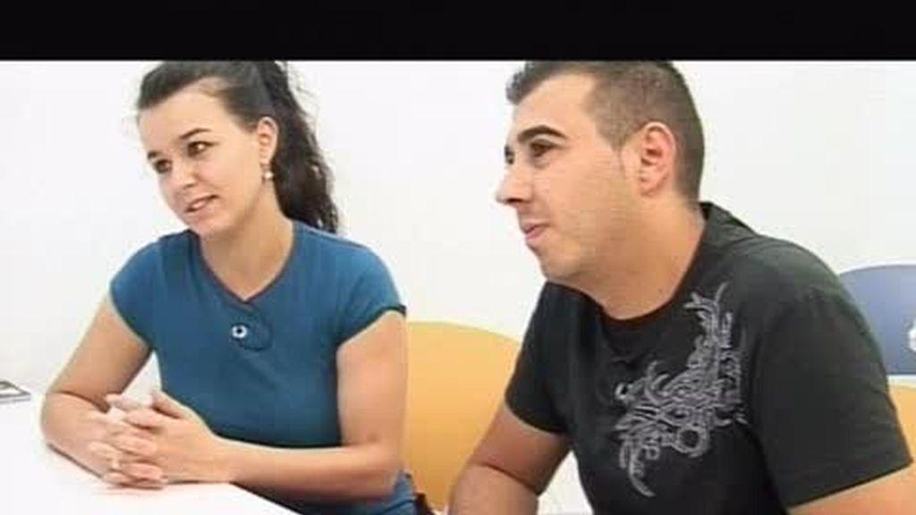 Justo y Paloma consiguen trabajo y alquilan una casa