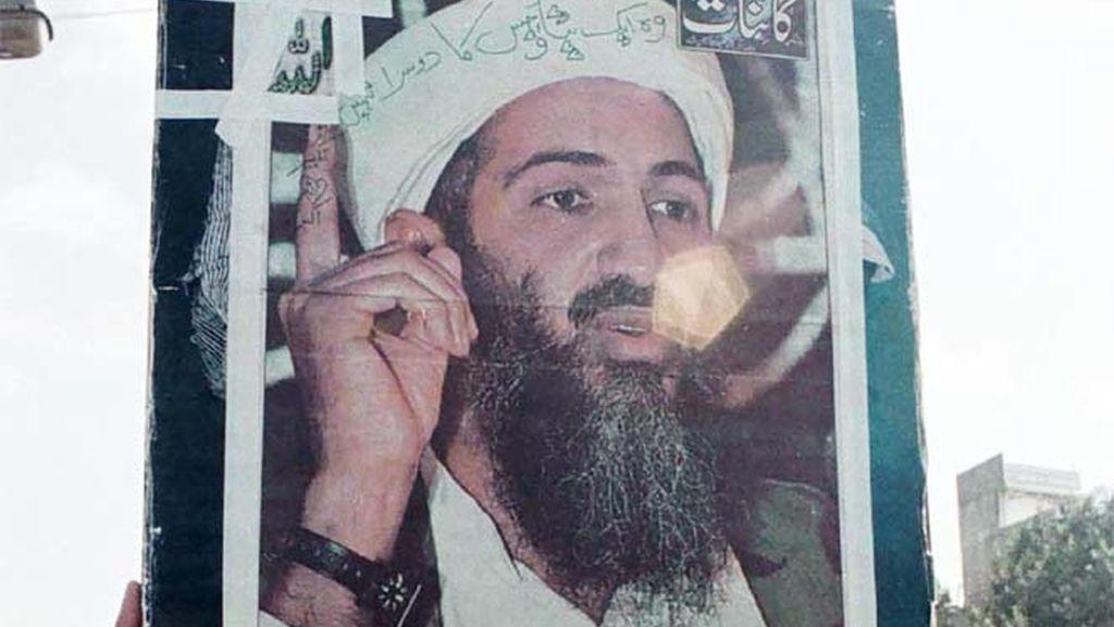 Retrato de Bin Laden
