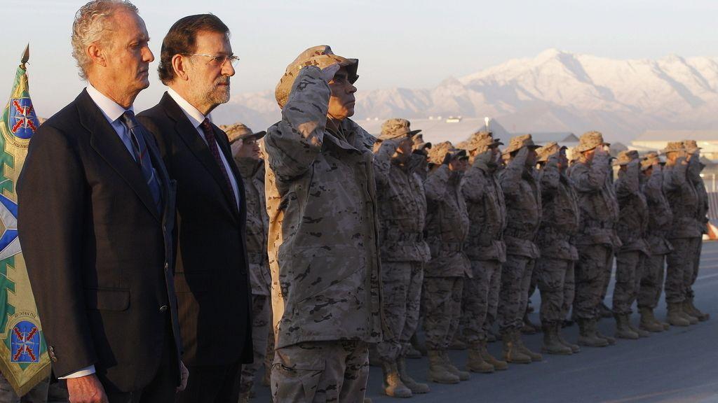 Rajoy traslada al presidente afgano que España quiere seguir en Herat después de 2014