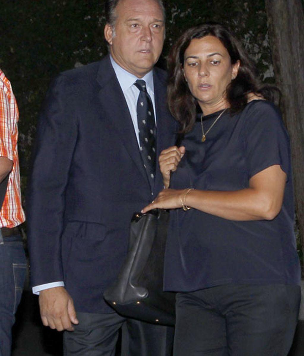 El empresario Pepe Barroso y su mujer Mónica Silvia