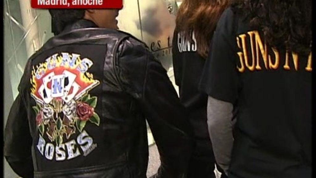 Guns N' Roses triunfa en Madrid