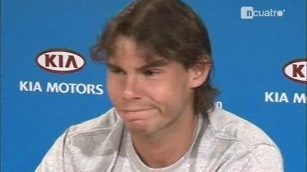 El desparpajo de Nadal en el Open de Australia