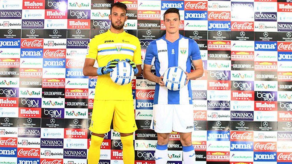 Equipación del Leganés en la temporada 2016/2017