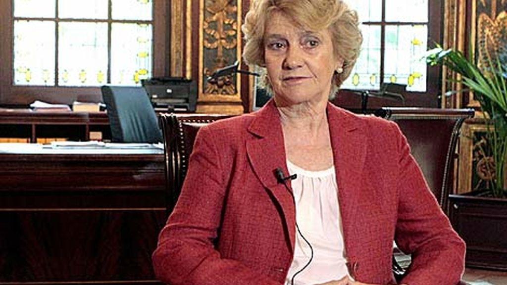 Soledad Becerril, la Defensora del Pueblo. foto: EFE