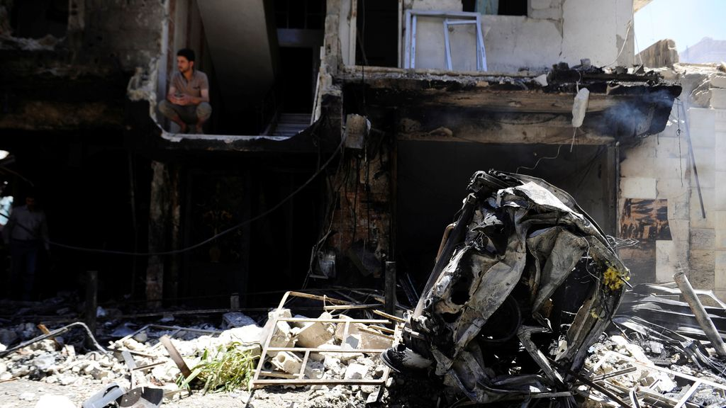 Aumenta a 16 la cifra de muertos en el triple atentado de Damasco