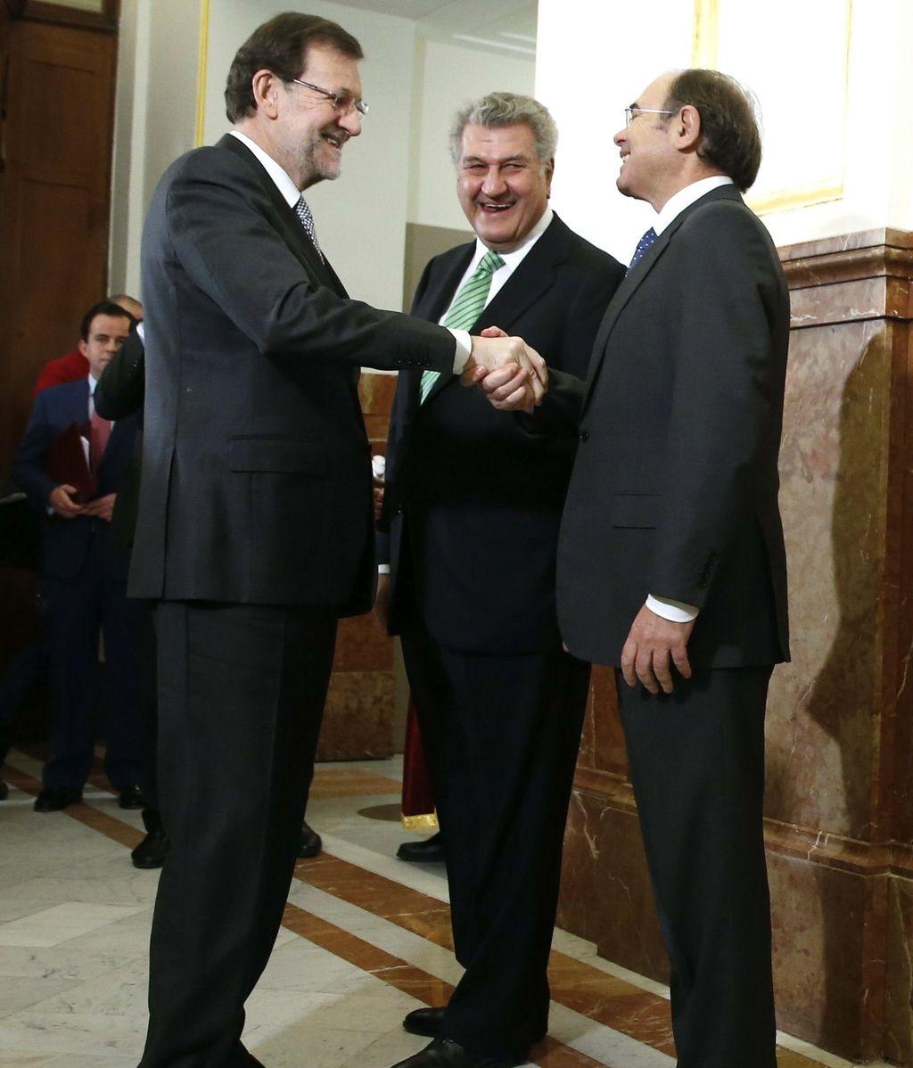 Posada, Rajoy y García Escudero
